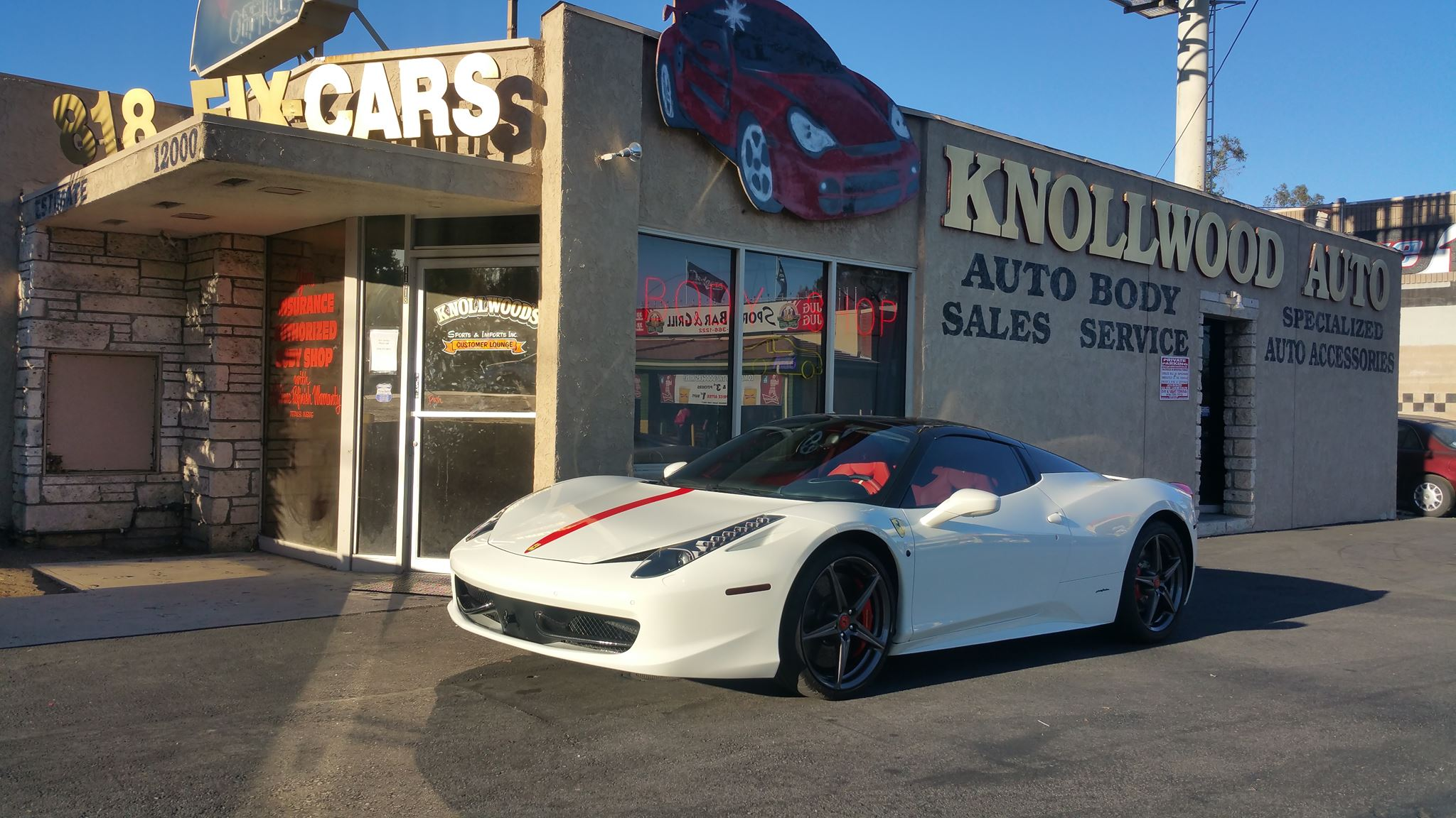 Knollwood Auto Center Store Front